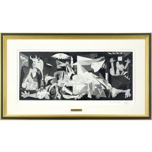 パブロ・ピカソ『ゲルニカ』リトグラフ 【絵画 額...の商品画像