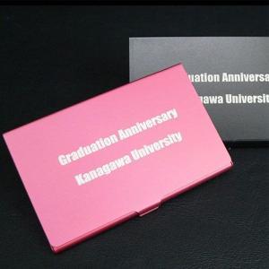 プレゼント ギフト 彫刻 卒業 記念品 送料無料 還暦祝い プレゼント ギフト 名入れ名刺入れ アルミカードケース【送料無料】 名前入り|arttech21np