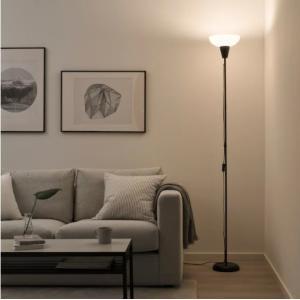 IKEA/イケア LED電球付き LEDアッパーライト フロアランプ スタンド TAGARP 北欧スタイル|artworks