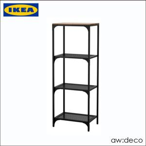 【商品情報】 IKEA/イケア オープンシェルフ シンプル ラック 棚 収納 オープンラック シェル...