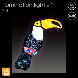 LED クリスタルグロー オオハシ/プロ施工用のイルミネーション3Dモチーフ 屋外/LEDモチーフライト|artworks