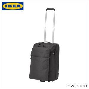 IKEA/イケア キャリーバッグ バックパック付き スーツケース キャリーケース ソフトキャリーバッグ人気 超軽量 旅行 便利 artworks