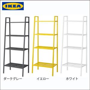 【商品情報】 IKEA/イケア オープンシェルフ 4段タイプ シンプル ラック 棚 収納 オープンラ...