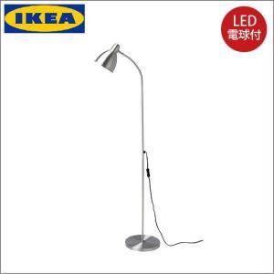 イケア/IKEA/LED電球付き フロアランプ/読書 ランプ フロアライト/スタンドライト/北欧スタイル/LERSTA|artworks