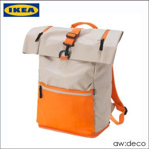 IKEA/イケア デイパック リュックサック 軽量バックパック メンズ レディース ザック 防災グッズ 防災リュック 35L アウトドア 遠足 バックパック 登山用品 artworks