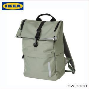 IKEA/イケア デイパック リュックサック 軽量バックパック メンズ ザック 防災グッズ 防災リュック アウトドア 遠足 バックパック 登山用品 artworks