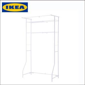 【商品情報】 IKEA イケア ランドリーラック ホワイト ランドリーシェルフ/TORGNY シェル...