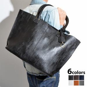 手入れが簡単で シックな雰囲気の高級感ただよう フェイクレザー製  トートバッグ ハンドバッグ ショ...