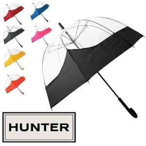 ハンター 傘 長傘 レディース マスタッシュ バブル 雨傘 ...
