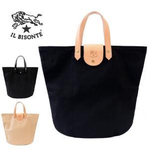 イルビゾンテ IL BISONTE バッグ トート レディース メンズ ロゴ キャンバス l0673t|aruarumarket