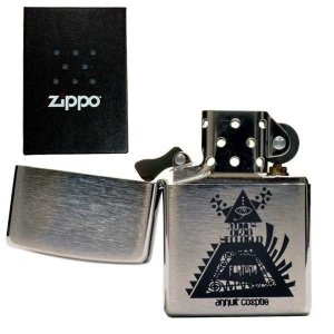 zippo ジッポーライター オリジナル 刻印 #200 フリーメイソン  freemason プロビデンスの目 友愛団体 aruarumarket