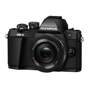 新品 OLYMPUS ミラーレス一眼 OM-D E-M10 MarkII 14-42mm EZレンズ...