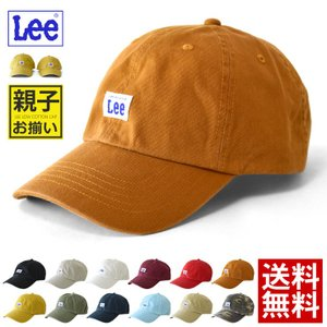 3f9a1c07a8b53 LEE リー キャップ 綿 帽子 ローキャップ ボックスロゴ メンズ レディース キッズ