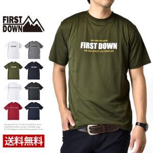 往年のアメカジブランドがリバイバルヒット!FIRST-DOWN半袖Tシャツが新登場!アクティブなシー...