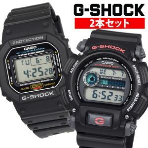 カシオ CASIO 腕時計 デジタル 2本セット G-SHOCK Gショック ブラック 黒 DW90...