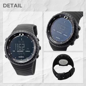 スント SUUNTO 腕時計 メンズ Core All Black コア オールブラック レギュラーブラック ss014279010 aruim 04