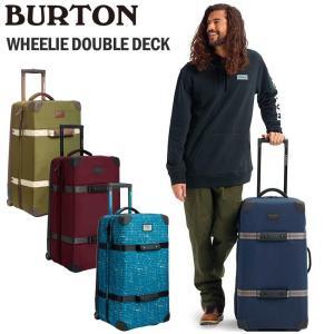 BURTON バートン キャリーバッグ WHEELIE DOUBLE DECK 86L TSAロック CRAMゾーン IXIONウィールシステム EVA/TPUバックパネル|arukikata-travel
