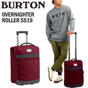 BURTON バートン キャリーバッグ OVERNIGHTER ROLLER SS19 40L|arukikata-travel