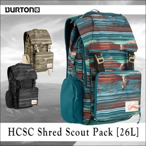BURTON バートン バックパック HCSC SHRED SCOUT PACK FW17|arukikata-travel