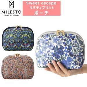 ミレスト ポーチ Sweet escape リバティープリント ポーチ MLS672|arukikata-travel