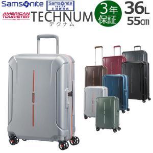 サムソナイト アメリカンツーリスター スーツケース テクナム 55cm 36L 37G*004 機内持込み 3年保証 国内旅行 短期海外旅行 arukikata-travel