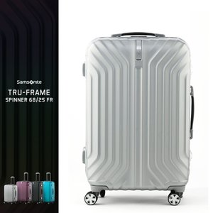 a6bb4b5aeb サムソナイト スーツケース 中型 Mサイズ フレーム 3泊 4泊 5泊 10年保証 トゥルーフレーム 68cm 60L I00*002