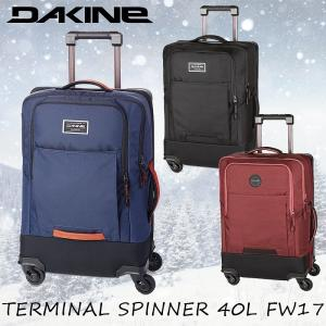 DAKINE ダカイン ソフトキャリーケース キャリーバッグ 機内持ち込みサイズTERMINAL SPINNER 40L FW17 AH237123|arukikata-travel