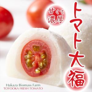 初めての食感!トマト大福