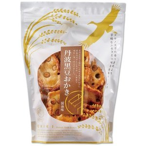 丹波黒豆おかき(醤油味) スタンドパック おかきのげんぶ堂|arumama