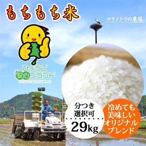 新米予約 令和元年産 もちもち米 玄米 白米 29kg 送料無料 当日精米|arumama