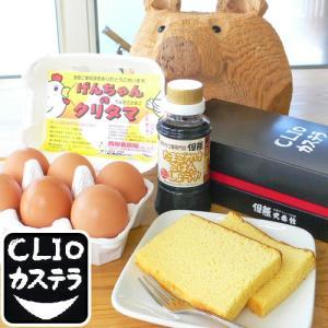 カステラ&卵&卵かけご飯醤油セット 送料無料 ギフト|arumama