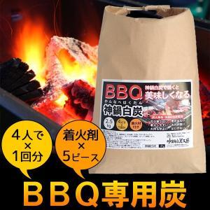 BBQ バーベキュー専用炭 木炭 2.5kg 着火剤付き|arumama