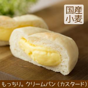 クリームパン カスタード 北海道産小麦|arumama