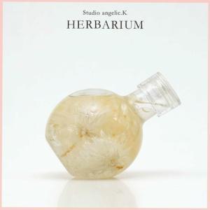 ハーバリウム プレゼント 花 ギフト 丸瓶ねこ cat001|arumama
