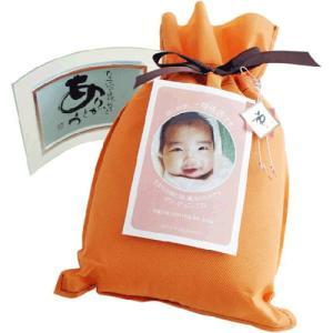 出産内祝い 赤ちゃんの体重と同じ重さ「こうのとりの めばえ米」【2701〜3300g】【女の子】|arumama