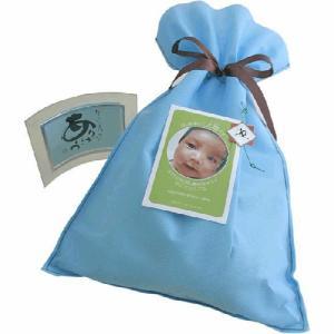 出産内祝い 赤ちゃんの体重と同じ重さ「こうのとりの めばえ米」【3301〜4000g】【男の子】|arumama