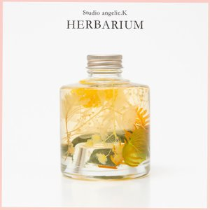 残暑お見舞い ハーバリウム プレゼント 花 ギフト スタッキング瓶 stk001|arumama
