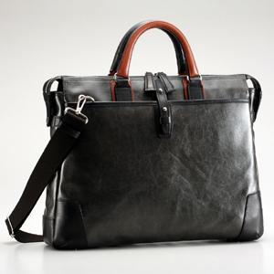 豊岡鞄 かばん カバン 鞄 帆布PU×皮革ソフトブリーフ 豊岡鞄ブランド|arumama