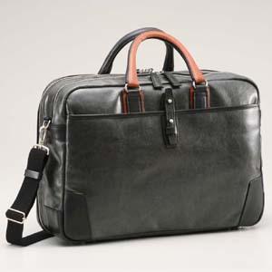 baec28bca665 豊岡鞄 かばん カバン 鞄 帆布PU×皮革ソフトブリーフ2R 豊岡鞄ブランド