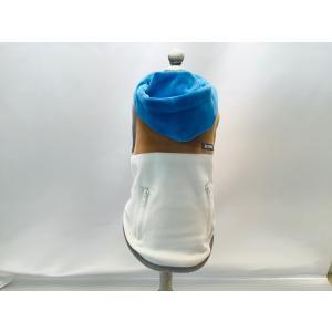 BROWNIE'S カラフル配色パーカ  オフホワイト Mサイズ 【ネコポス可】 arumik-one
