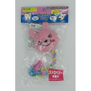 デンタルロープToy 4734 ピンク いちごの香り(香り付き)|arumik-one