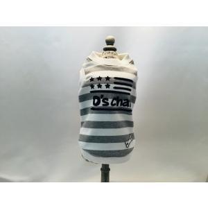 D'S CHAT 太ボーダースウェットタンク    グレー  Lサイズ 【ネコポス可】 arumik-one
