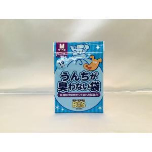 うんちが臭わない袋 M  15枚入 大型犬用 【ネコポス可】 arumik-one
