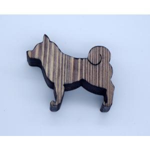 カード立て 020 柴犬 (エボニー)|arumik-one