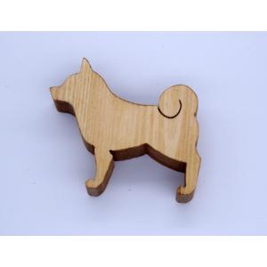 カード立て 020 柴犬 (パイン)|arumik-one