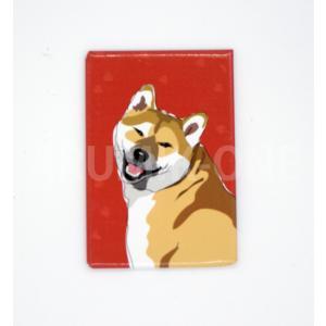 【マグネット】 柴犬 46 【ネコポス可】|arumik-one