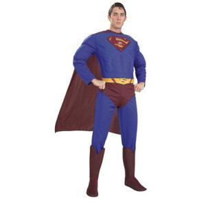 仮装パーティーコスチューム Adult Dx. Superman(アダルト デラックス スーパーマン)|arune