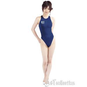 コスプレ コスチューム 薄々競泳水着(ネイビー) XLサイズ スクール水着 女装男子|arune