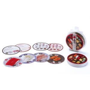 寿司トランプ 54種類のいろんな寿司で楽しめる4つのゲーム&お魚知識 ギフト パーティーグッズ 知育玩具 アイアップ|arune
