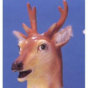 アニマルマスクII 小鹿 変装・仮装・変装グッズ・かぶりもの・被り物・かぶり物・マスク・着ぐるみ・お笑い|arune